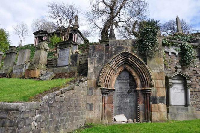 Glasgow Necropolis | © Helen Simonsson/WikiCommons