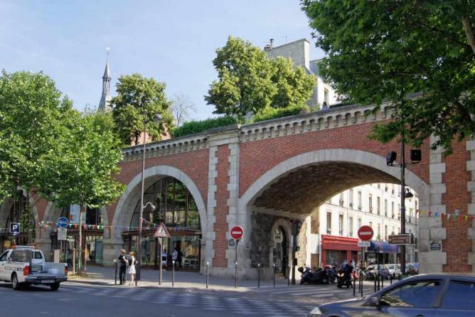 Viaduc des Arts | © besopha/WikiCommons