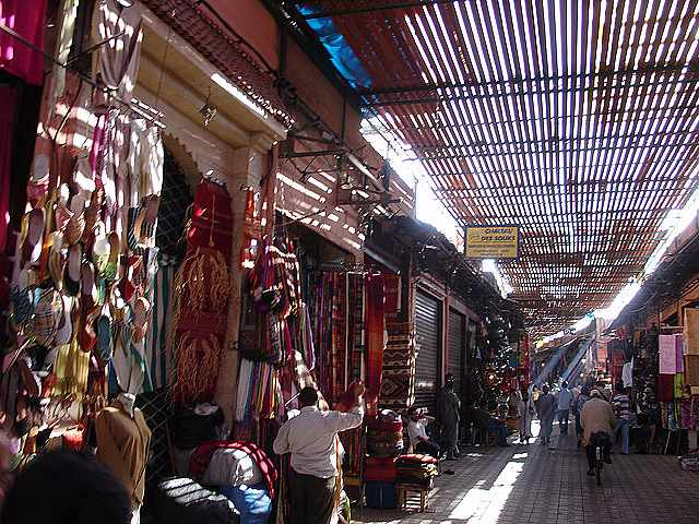 Old medina souks | © alexandre nakonechnyj/Flickr