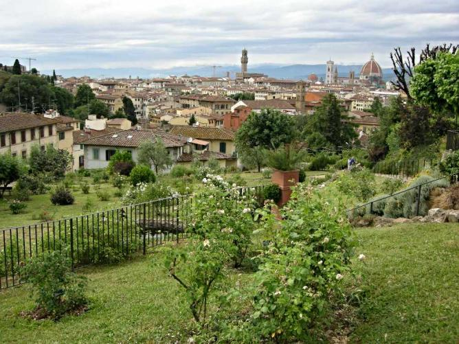 The best kept secrets of florence - Giardino delle rose firenze ...