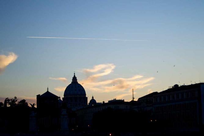 Rome's beautiful skyline   Courtesy of Stefan Hunt