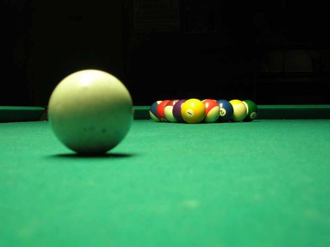 Billiards   © William Clifford/Flickr