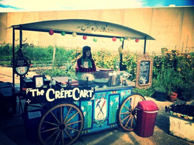 The Crepe Cart| Courtesy of The Crepe Cart