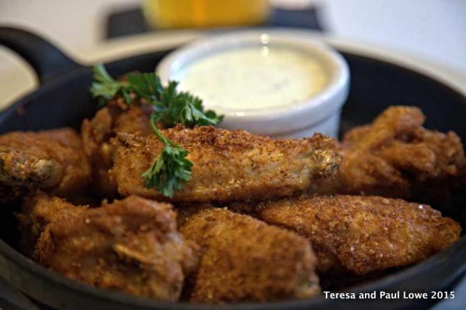 Cumin Dry Rub Chicken Wings at Mary Jane's in The Hard Rock San Diego