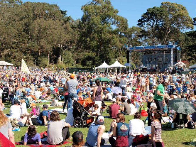 Hardly Strictly Bluegrass | Michael Fraley