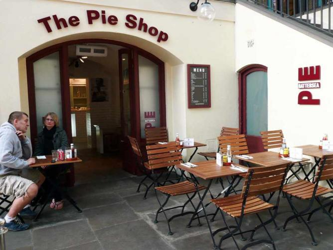 The Battersea Pie Shop, Covent Garden | © everydaylife.style/Flikr