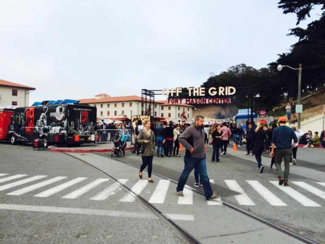 Entrance | Off the Grid Fort Mason Center