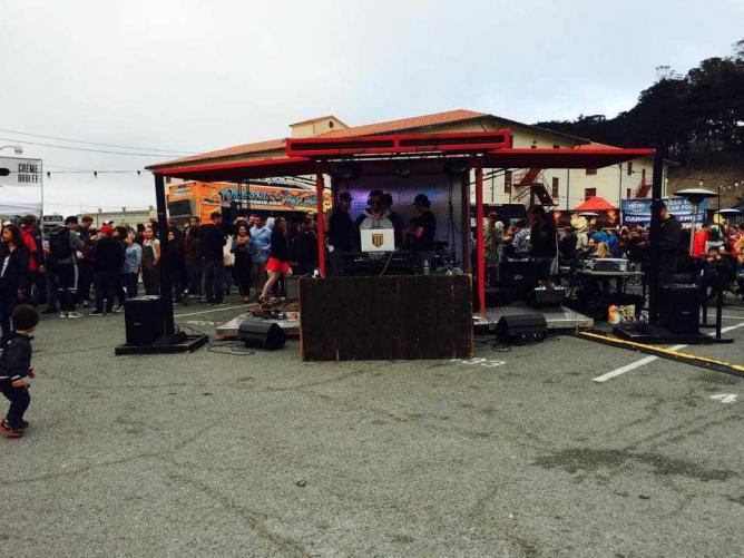 Golden State Warriors DJ Dsharp | Off the Grid Fort Mason Center