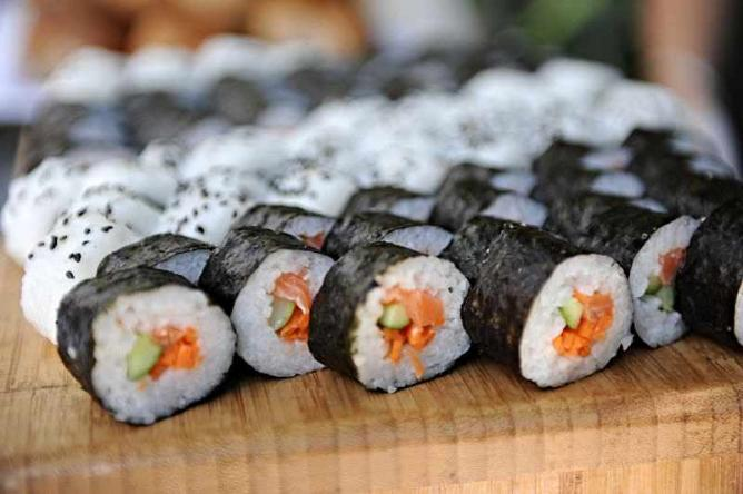 Sushi rolls I © Wikimedia Israel/WikiCommons