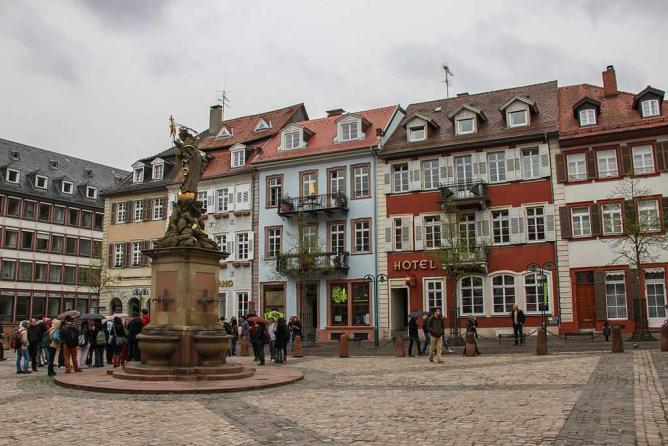 Heidelberg Hauptstrasse | © Cristian Bortes/WikiCommons
