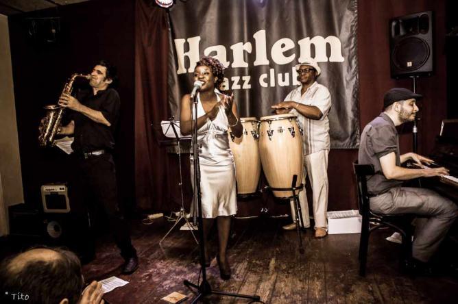 Angue | Courtesy of Harlem Jazz Club