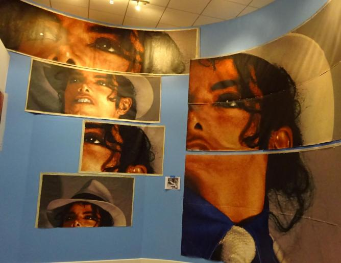 5 la havens of film tv history for Jackson 5 mural