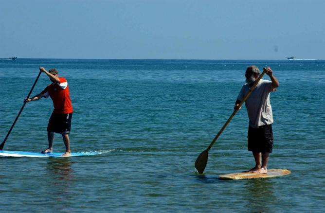 Paddle Boarding Photo © Eli Carrico