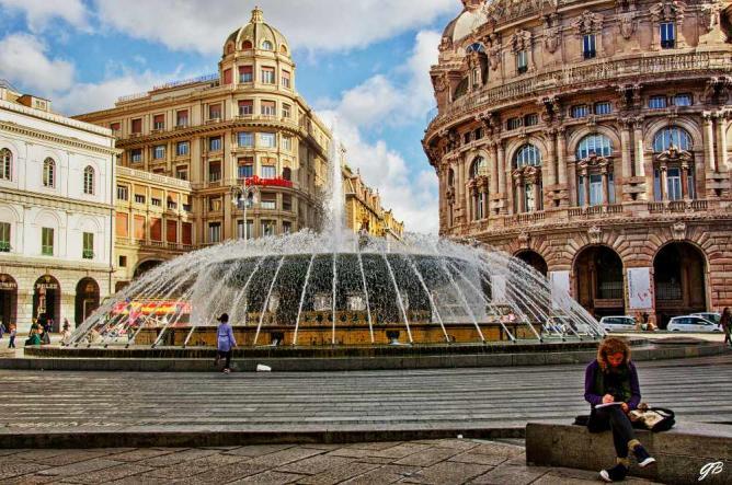 Piazza de Ferrari | © Gianpiero Bacchetta/Flickr