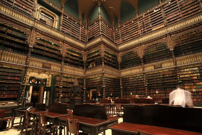 Real Gabinete Português de Leitura © Matthew Betrand Struck