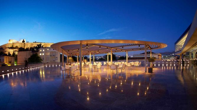 Acropolis Museum Restaurant rooftop | Courtesy of the Acropolis Museum Restaurant