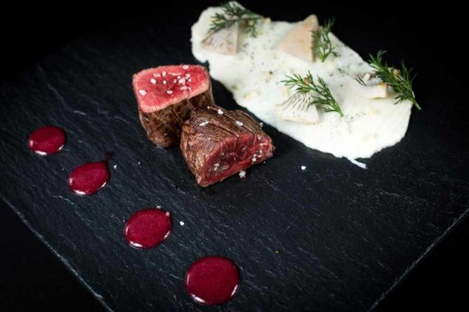 Gourmet versions of traditional Russian delicacies at The Russian Seasons | Courtesy of The Russian Seasons