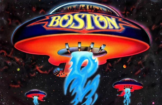 Boston Self Titled Album Cover Art