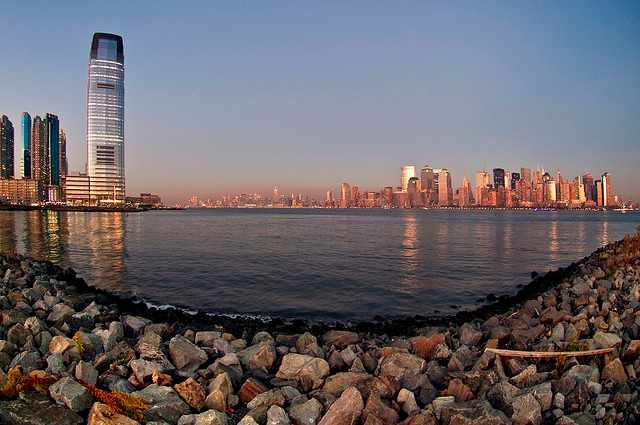 Manhattan from Liberty State Park