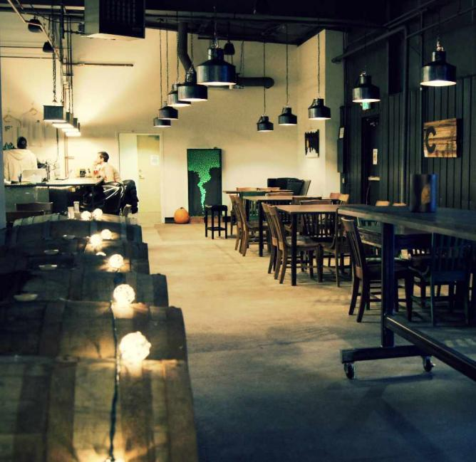 Taproom | Courtesy of Beryl's Beer Co.