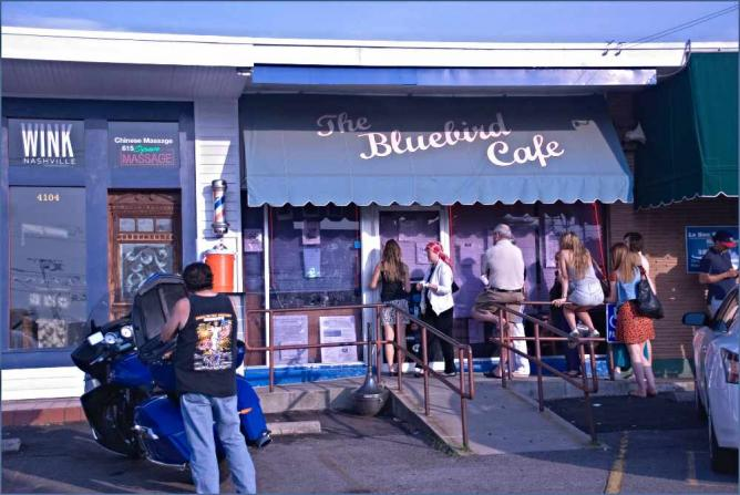 The Bluebird Cafe | © Ron Cogswell/Flickr