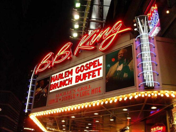 B.B. King's Blues Bar | © Matthew Mendoza/Flickr