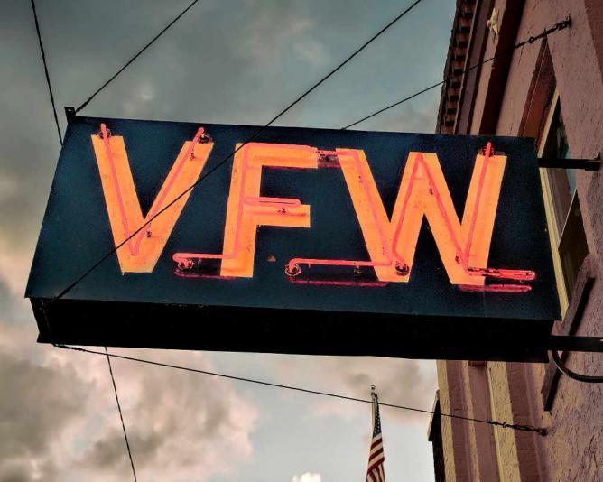 VFW Post 754. Pete Zarria/Flickr