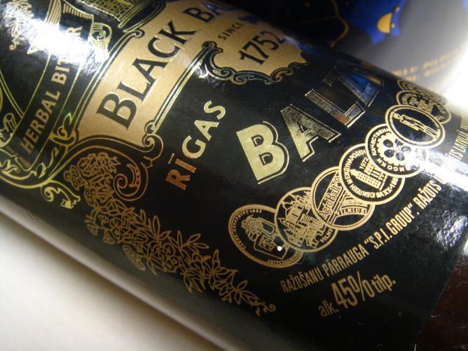 A bottle of Riga Black Balsam   © Jill Shih/Flickr