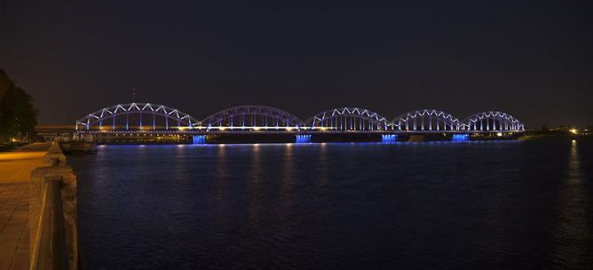 Riga by night   © Diego Delso/WikiCommons