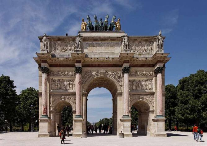 Arc de Triomphe du Carrousel | © Thesupermat/WikiCommons