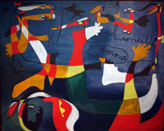Joan Miro: Hirondelle amour (1933-34) | © Mike Steele/Flickr