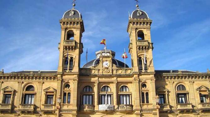 San Sebastian's city hall | © Roberto Chamoso G/WikiCommons