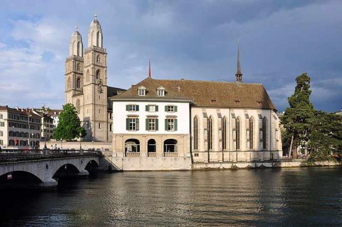 The Grossmünster | © Roland zh/WikiCommons