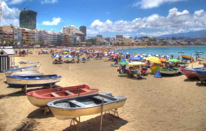 Playa Las Canteras © El Coleccionista de Instantes Fotografía&Video/Flickr