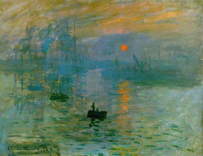Impression, Soleil Levant, Claude Monet   © Unknown/WikiCommons