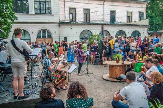 Live music   © Courtesy of Kanepes Kulturas Centrs