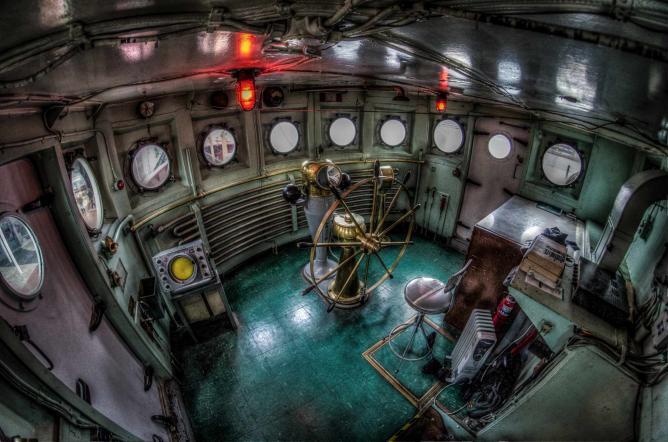 Interior of a Ship, Historic Ships | © m01229/Flickr