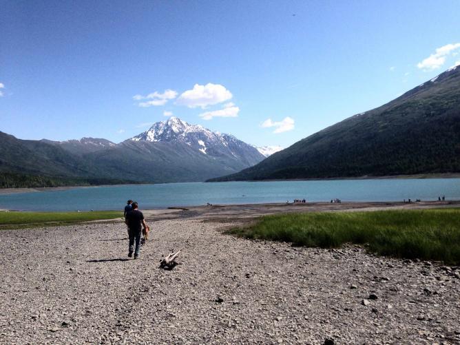 Eklutna Lake  © JoAnneh Nagler
