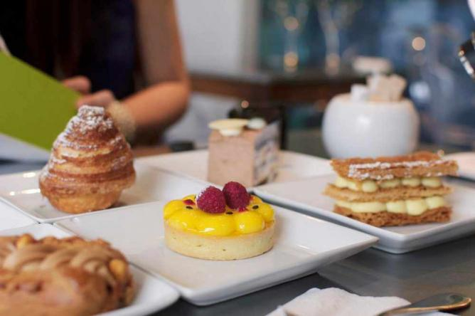 A selection of Pastries available at Maison Christian Faure, Montreal