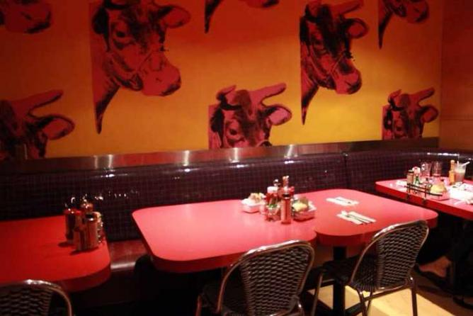 Swingers Andy Warhol Inspired Dining