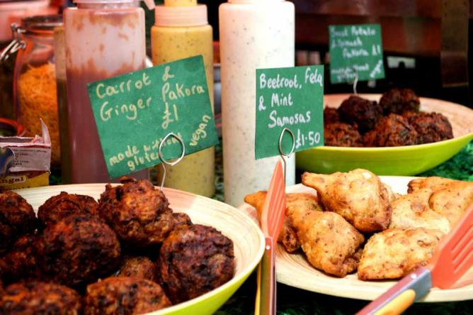 Healthy and creative Indian delicacies at Gopal's Curry Shack | Courtesy of Stefan Hunt