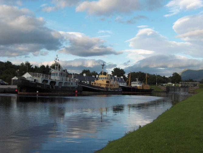 Caledonian Canal | © TwoWings/WikiCommons