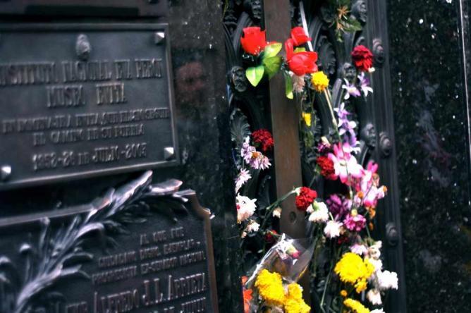 Evita's Tomb | Courtesy of Madeleine Bazil