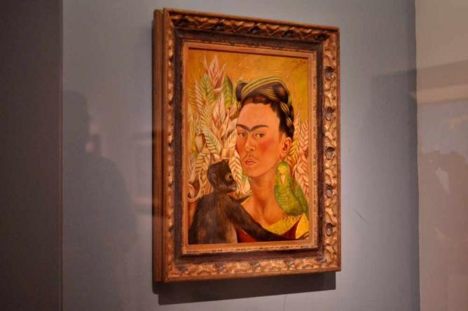 Frida Kahlo at MALBA   Courtesy of Madeleine Bazil