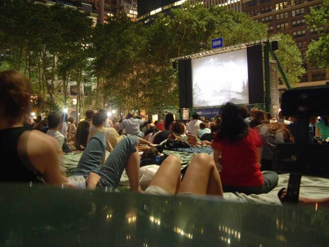 cartoons in the park