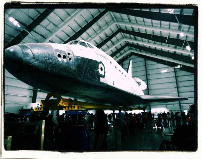 Space Shuttle Endeavor | © California Science Center