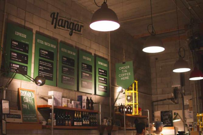 Hanger Café | Image courtesy of Flight Coffee