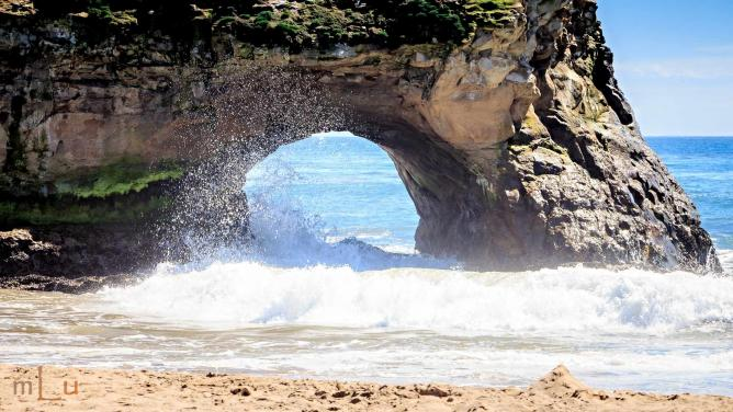 Natural Bridges State Beach  l  © mLu.fotos