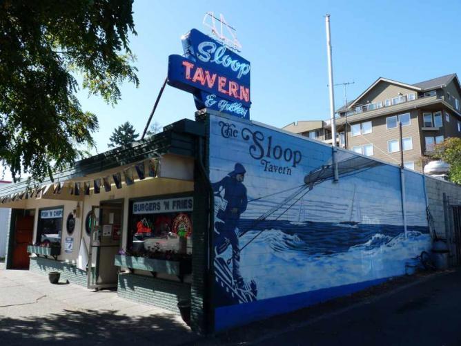 Sloop Tavern in Ballard