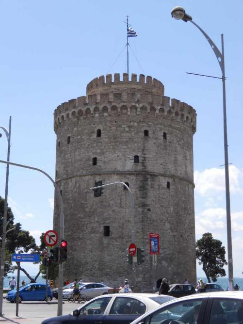 White Tower of Thessaloniki   Courtesy of Evangelos Tsirmpas